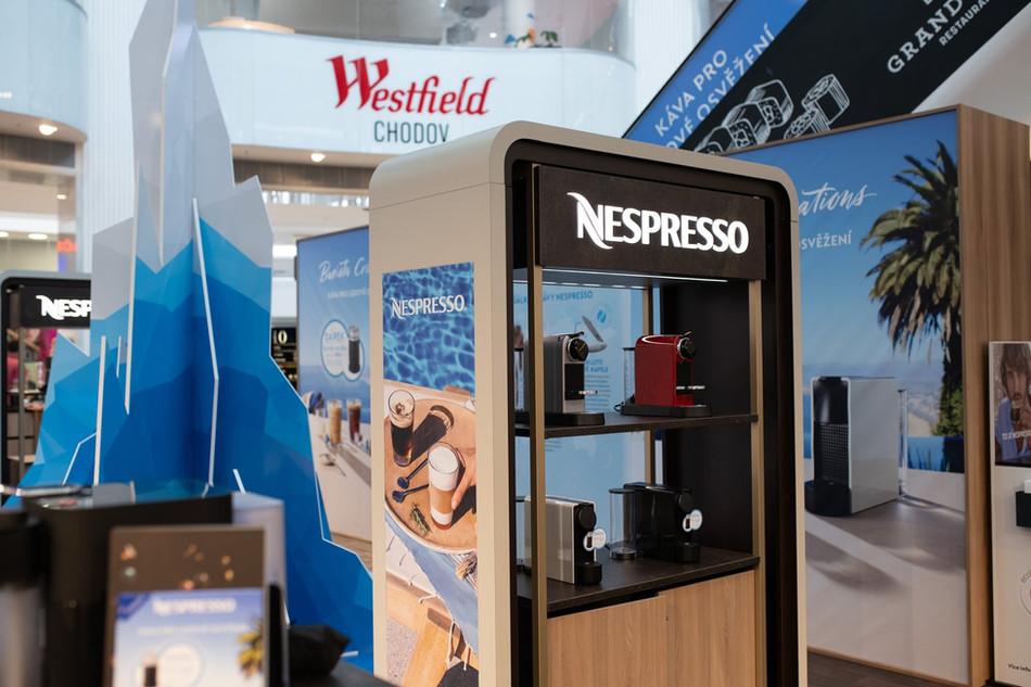 PopUp store Nespresso