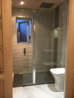 Ultra modern wet room