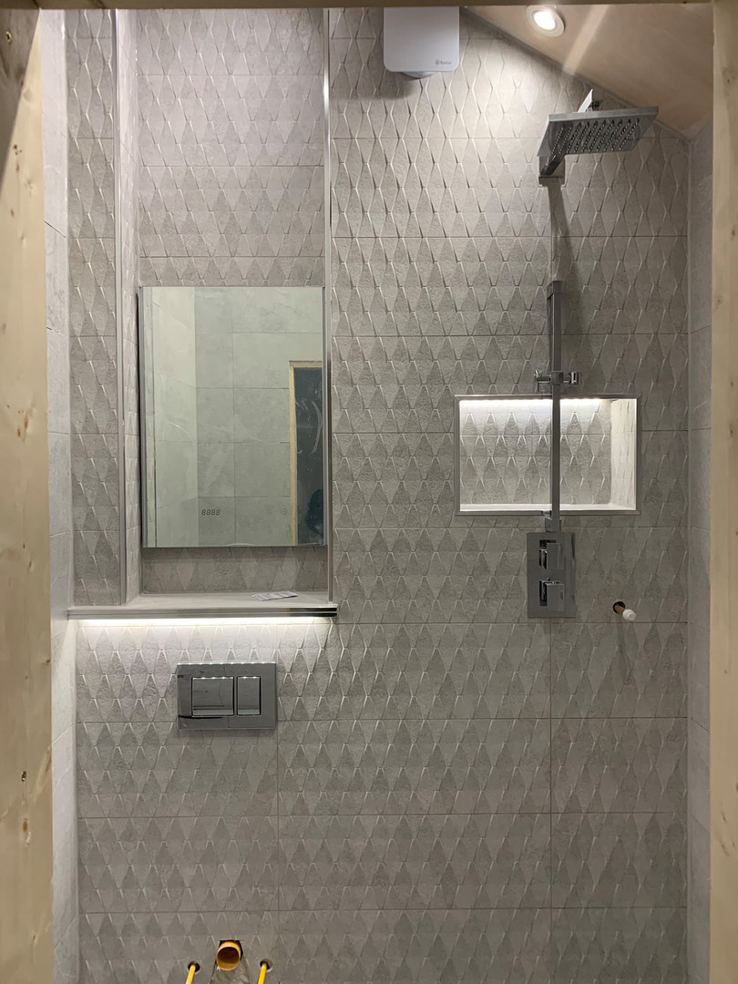 Modern tile with contemporary finish