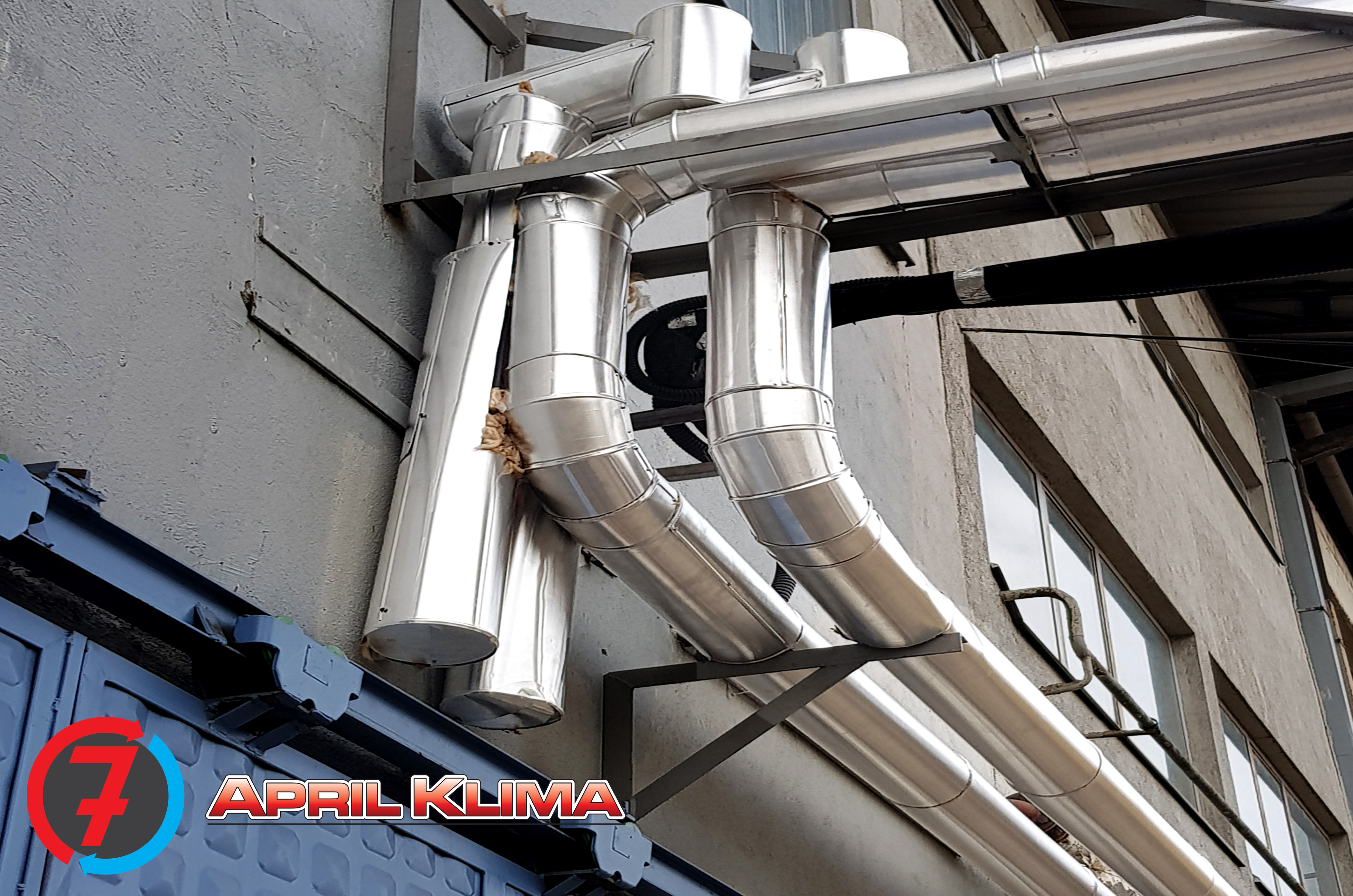 Thermal insulation of pipes