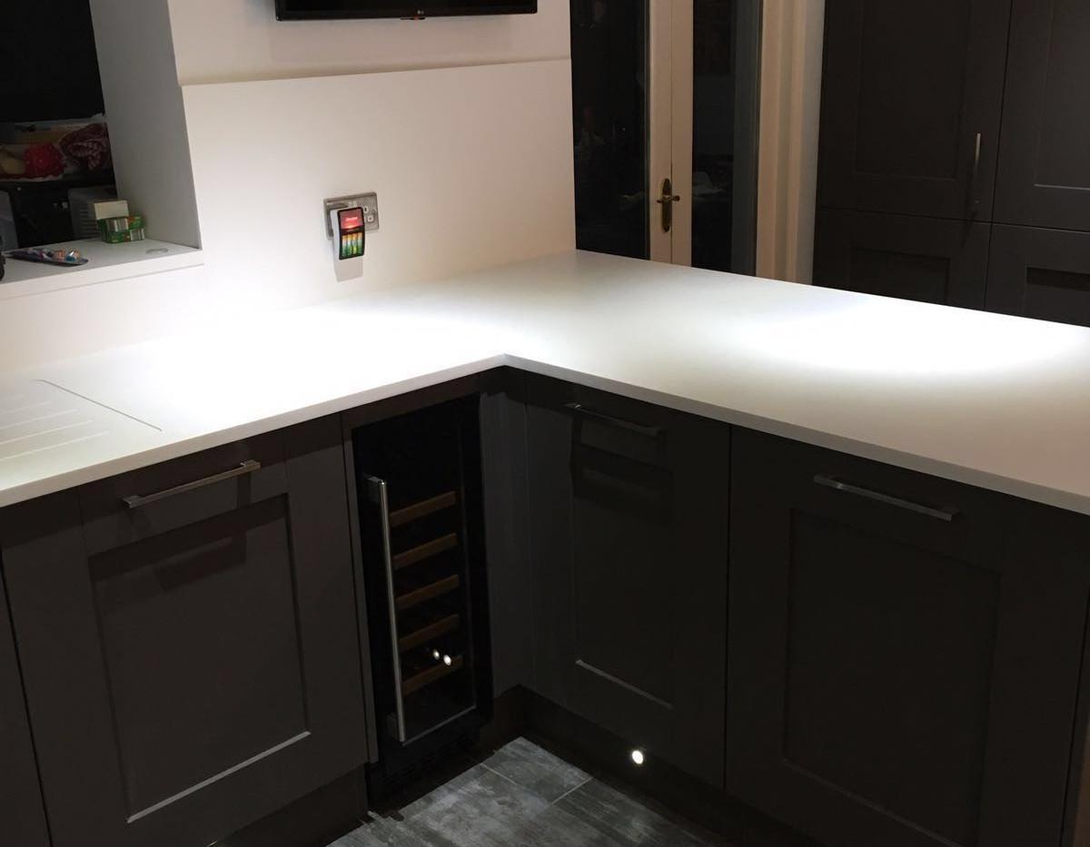Painted Shaker Kitchen East Kilbride 3