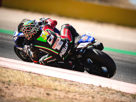 2º POSTO NEL GP DI ARAGON DEL CAMPIONATO EUROPEO SUPERSPORT 600
