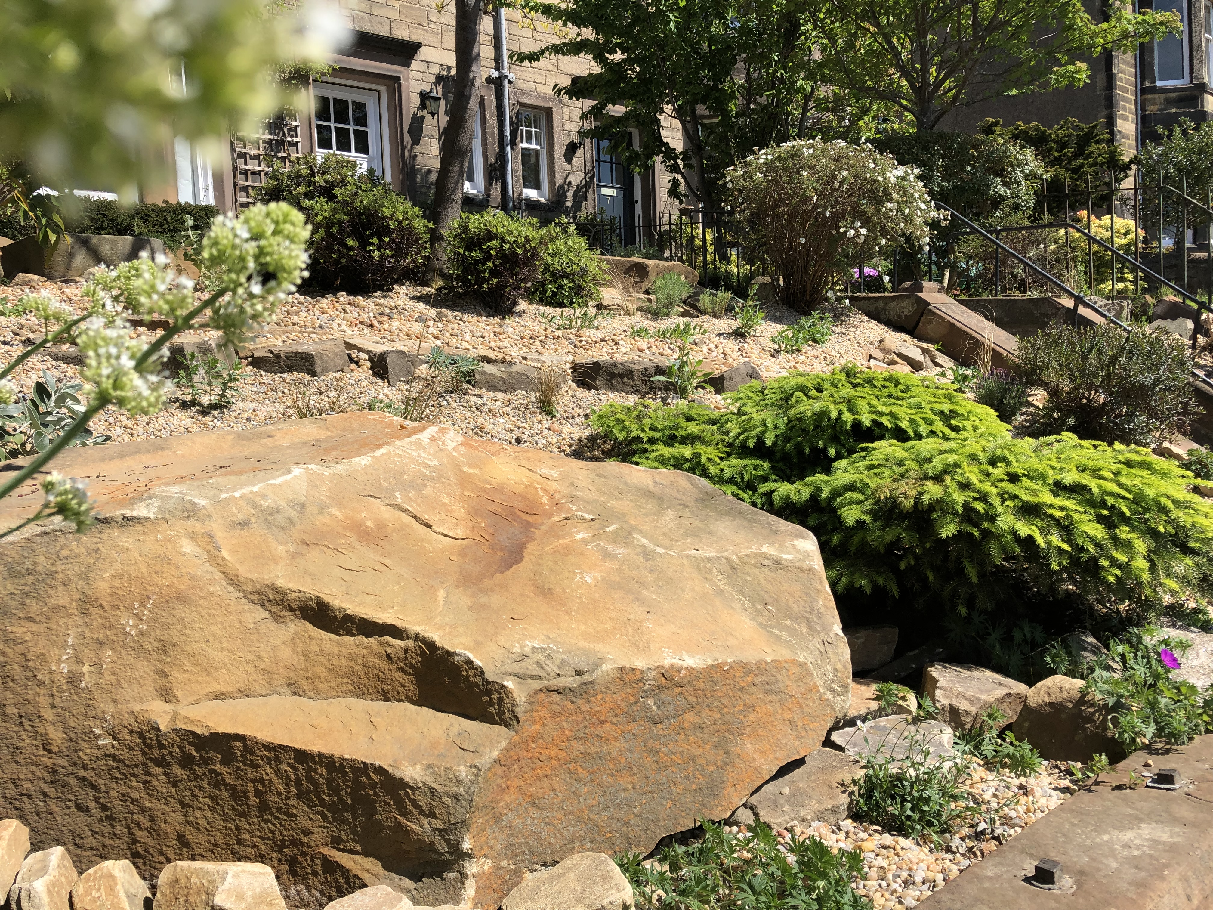 Sunny Hillside Garden Edinburgh