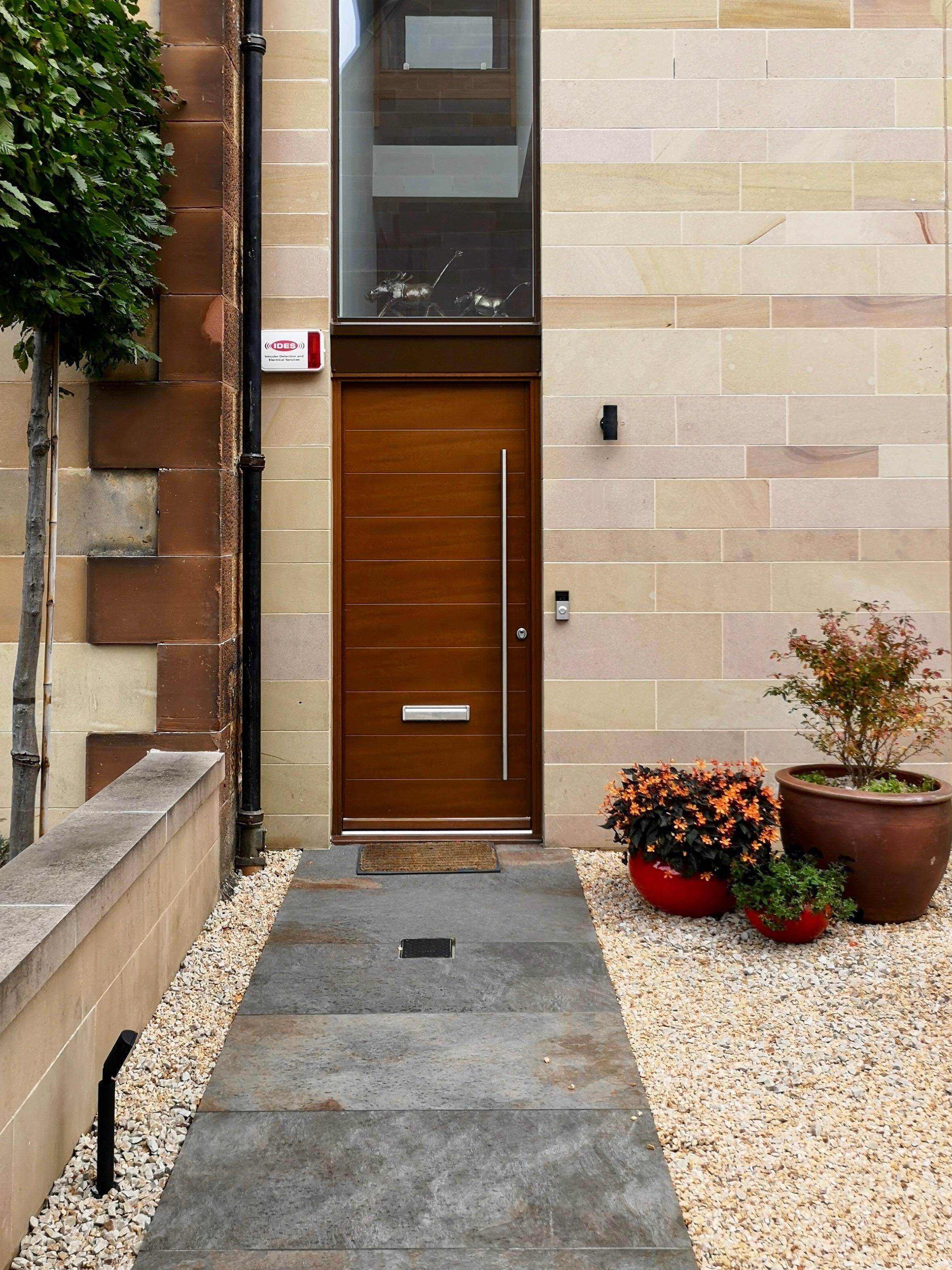 City Courtyard Garden Edinburgh