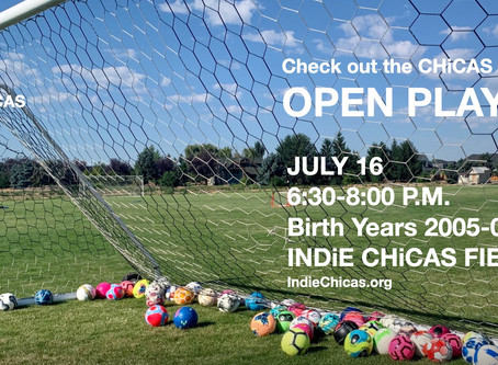 Open Play, July 16