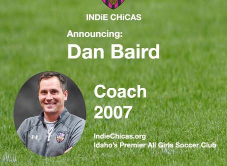 Dan Baird, Coach 2007