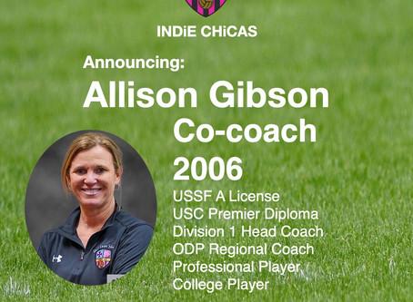Allison Gibson, Coach 2006