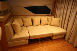 Couch in main salon