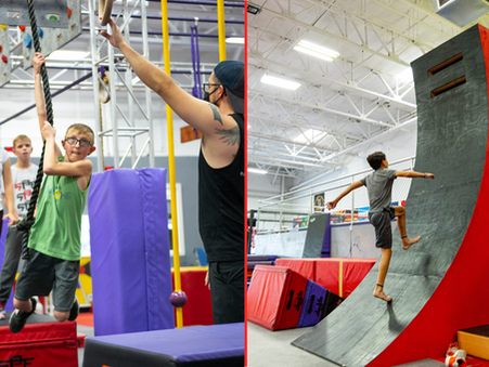 New Ninja Warrior Jr. Classes!