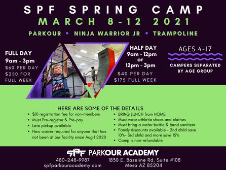 SPF SPRING CAMP