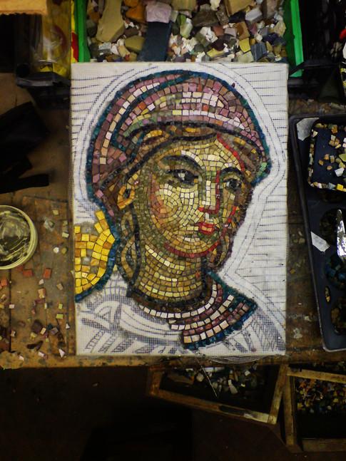 смальта мозаика фрагмент