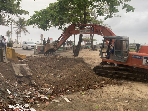 Prefeitura do Rio fecha estacionamento da milícia na Praia da Macumba