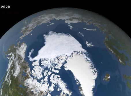 Ártico tem segundo maior degelo da história