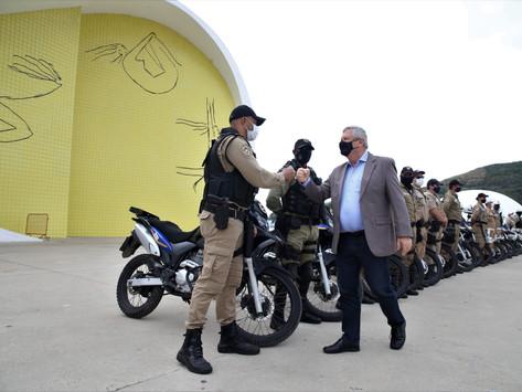 GM de Niterói ganha reforço de 18 motocicletas