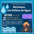 Sindicatos promovem 'bicicleata' contra privatização da Cedae