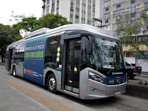 Niterói lança consulta pública sobre ônibus elétricos