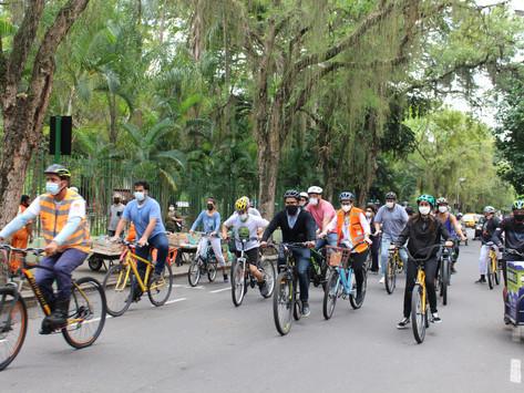 Niterói realiza atividades no Dia Mundial Sem Carro