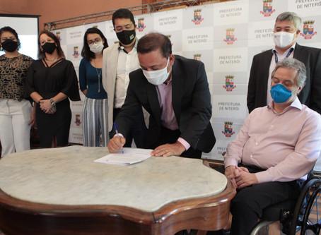 Prefeitura de Niterói e UFF fazem parceria para fomentar inovação