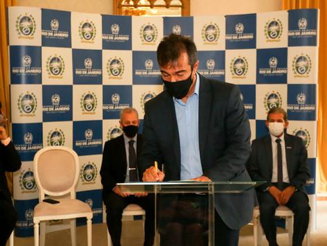 Estado assina acordo para cessão de áreas do GasLub