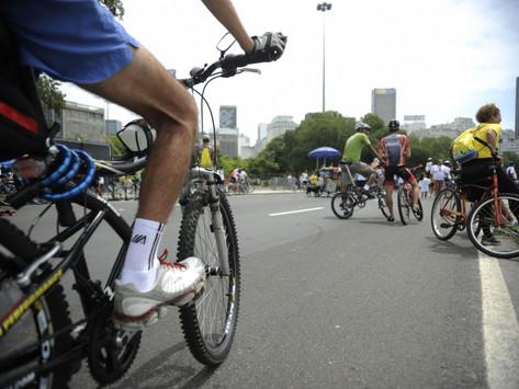 Dia Mundial sem Carro tem pedalada no Rio