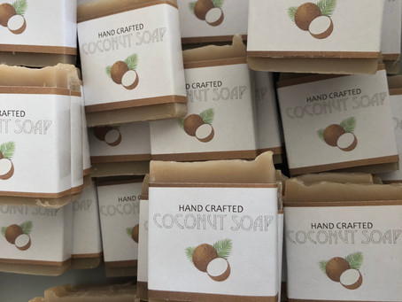 Coconut Soap for Little Hands