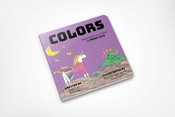 Colors Children's Board Book