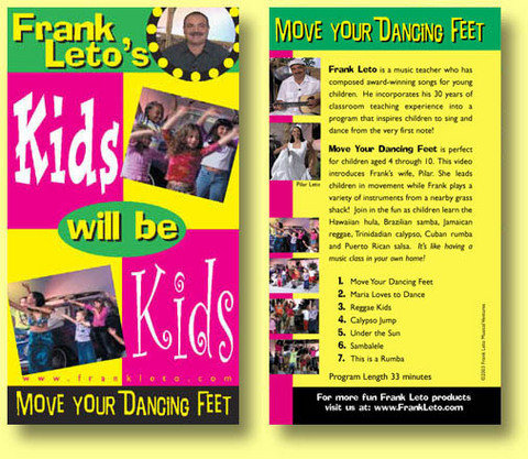 Move Your Dancing Feet DVD