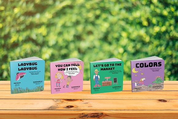 Children's Book Series (4 Board Books)