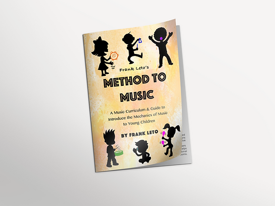 Frank Leto's Method to Music Book