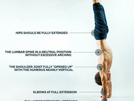 Working on that handstand mobility from the bottom up