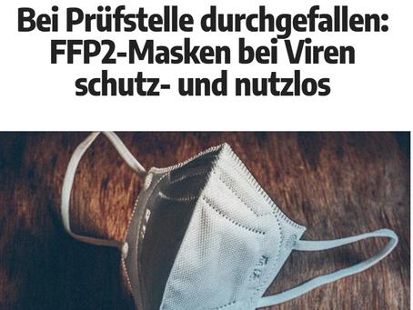 FFP2-Masken bei Viren schutz- und nutzlos