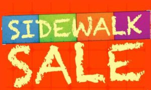 Sidewalk Sales August 19-24