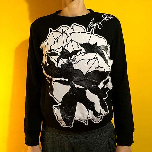 Pfingstrose Alloverprint - Sweater