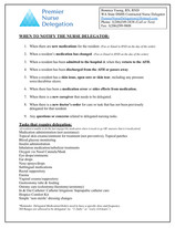 When to Notify the RND