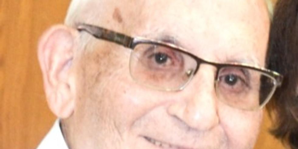 קידוש לרגל יום הולדתו ה-90' של יצחק מזרחי