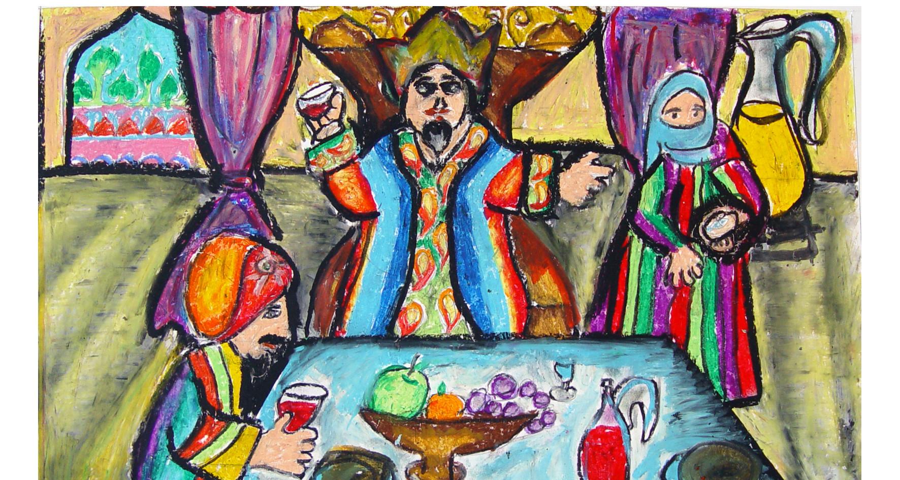 Achasuerus' Feast