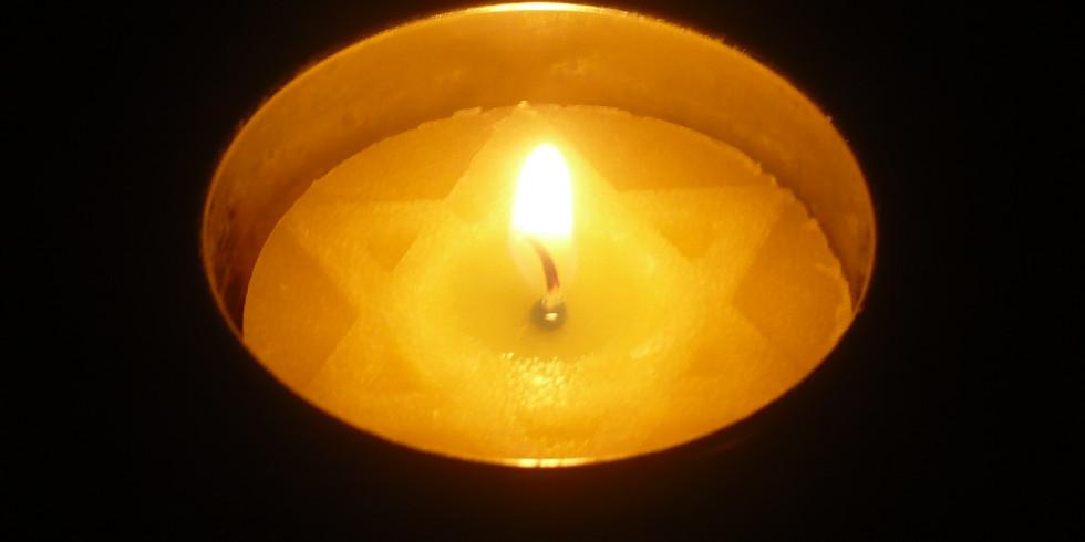 זיכרון בסלון - טקס יום השואה והגבורה