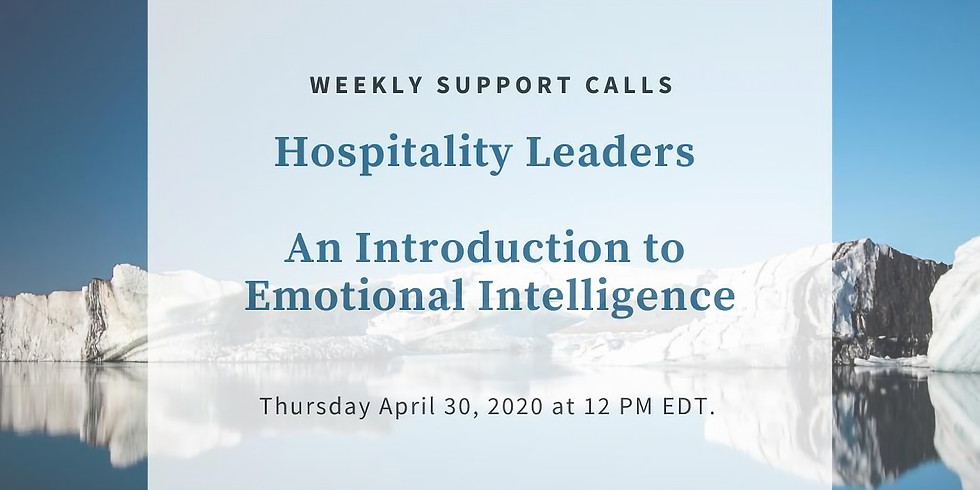 Weekly Support Call #6 - Hospitality Leaders