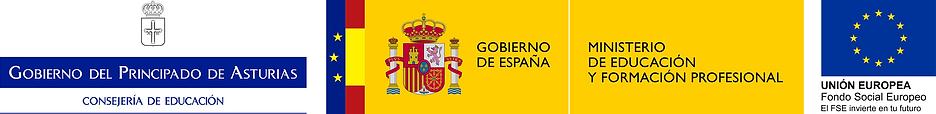 Logotipo Consejería de Educación, MEyF
