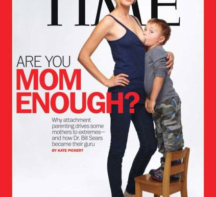 Time Magazine Cover on Breastfeeding