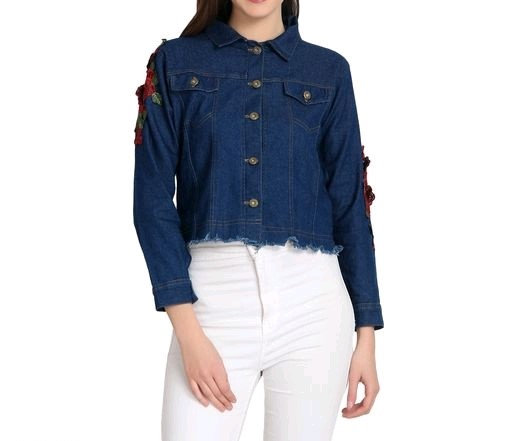 Comely Feminine Women Denim  Jackets & Waistcoat