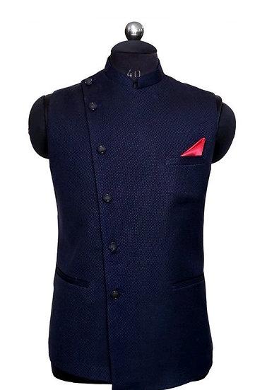 Wonderous Men's Polyester Cotton Ethnic Jackets