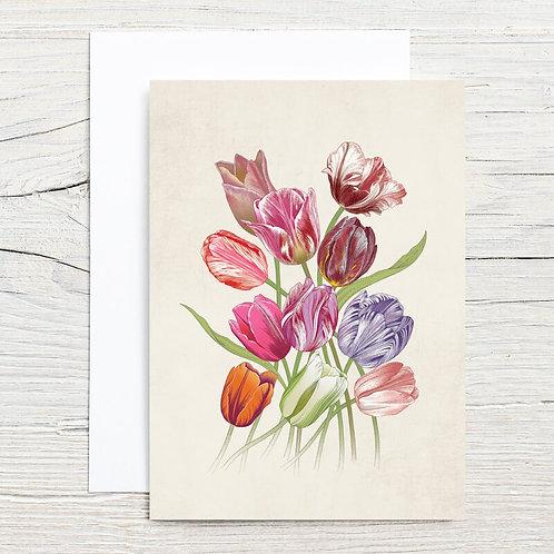 Eleven Tulips 5x7 Notecard Set (8)
