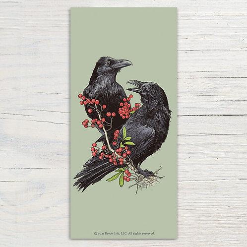 Two Ravens Bookmark
