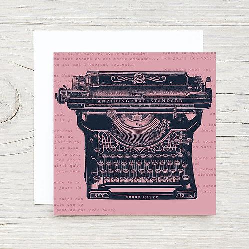 Antique Tyepwriter Gift Card Set (10)