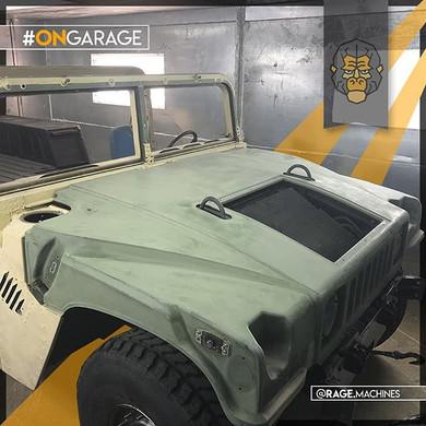 Rage Machine Restorations-Passion for Hummvee's #FeelTheRage__#hum