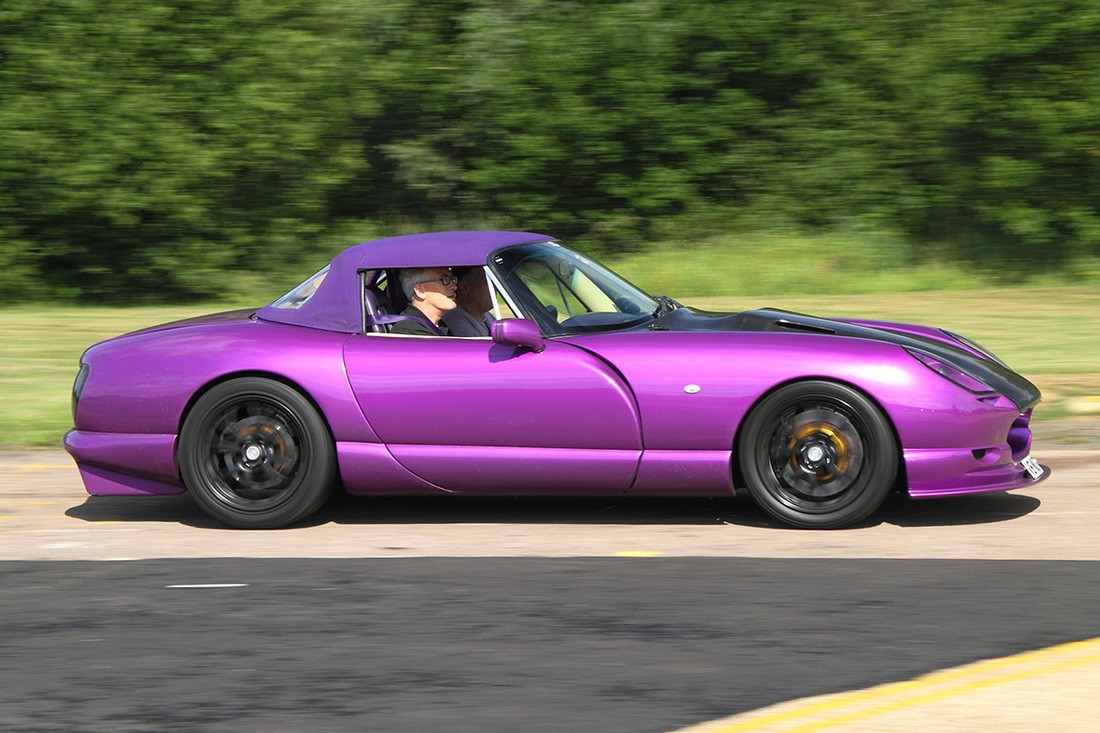 TVR Chimaera Purple