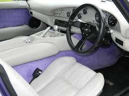 TVR Chimaera Interior Purple