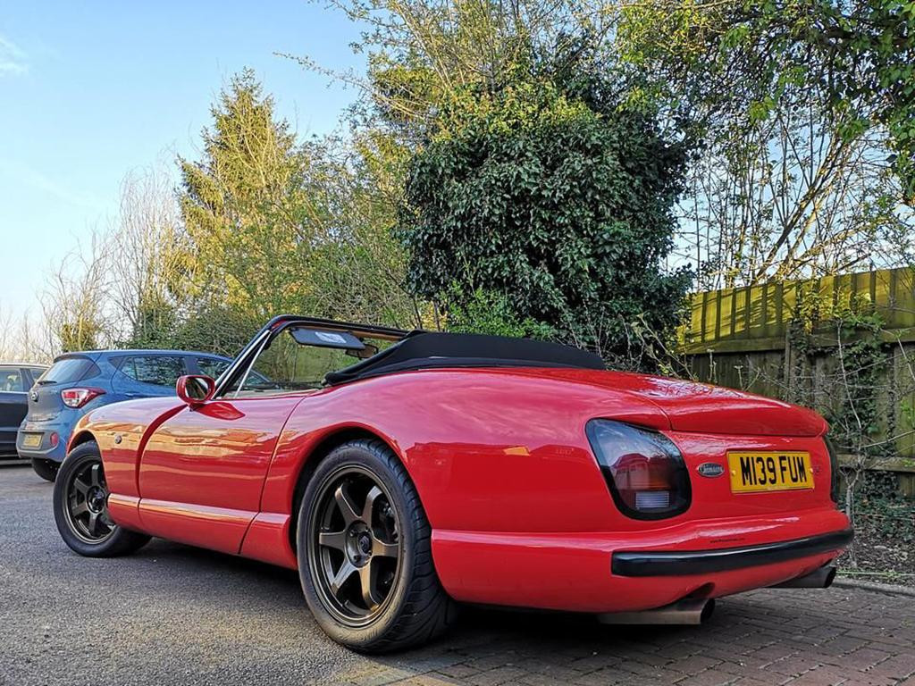 Red TVR Chimaera