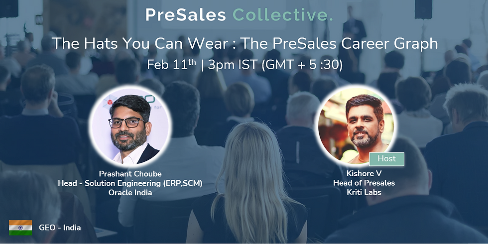 The Hats You Can Wear: The PreSales Career Graph